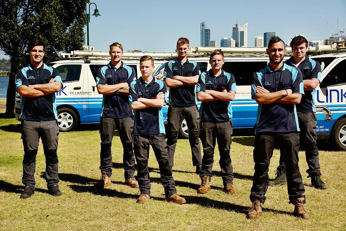 Link Plumbing & Gas Service team