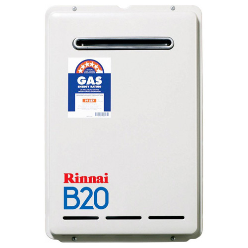 Rinnai Continuous Flow Hot Water Systems Rinnai B20