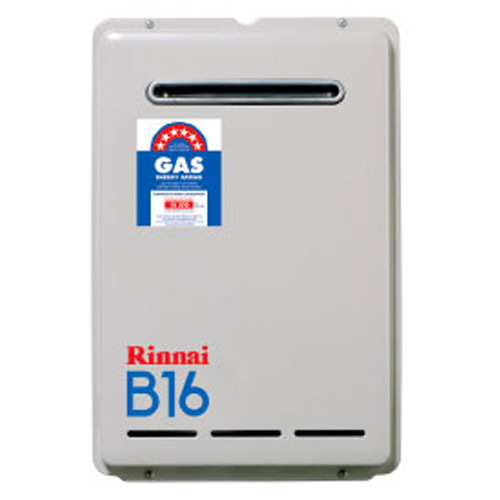 Rinnai Continuous Flow Hot Water Systems Rinnai B16 - $1,050*